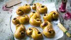 The Swedish speciality, saffron Lucia buns. Photograph: Donal Skehan
