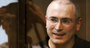 Mikhail Khodorkovsky  spent 10 years in a Russian prison colony. Photograph: Denis Sinyakov/Reuters