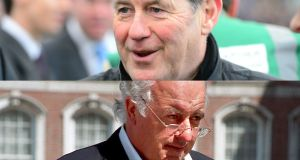 Horse racing tycoons JP McManus and John Magnier: they own 23% of Mitchells & Butlers pub chain