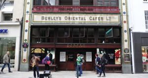 Bewley's is planning a major refurbishment of its Grafton Street cafe, which will  re-open on a phased basis in 2017. Photograph: Aidan Crawley