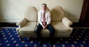 Máirtín Ó Muilleoir: says Ireland can no longer afford the cost of partition. Photograph:  Mark Marlow/Pacemaker