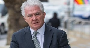 Former Anglo Irish Bank chairman Sean FitzPatrick at Dublin Circuit Criminal Court in 2015. Photograph: Courts Collins.