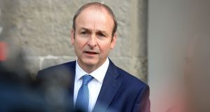 Fianna Fáil leader Micheál Martin  said, over the past two weeks, up to 16 people had died by suicide in Cork. Photograph: Eric Luke