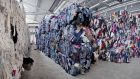 60 per cent of the clothing goes back on to the market –  sold by the kilo mostly to Africa and eastern Europe