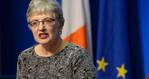 Minister for Children and Youth Affairs Katherine Zappone: Eager to publish the Bill and have it passed by the Oireachtas without delay. Photograph: Dara Mac Dónaill