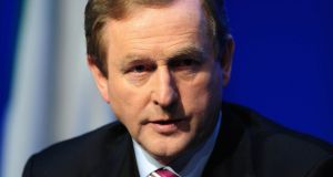 Taoiseach Enda Kenny was adamant on Wednesday that collective Cabinet responsibility would apply to all members of the Government. Photograph: Aidan Crawley/Bloomberg