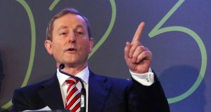 Taoiseach Enda Kenny defended his message on Twitter about a phone conversation with US vice-president-elect Mike Pence. File photograph: Colin Keegan/Collins Dublin