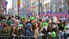 "St Patrick's Day in New York. ""I think Irish people feel particularly affected by Trump's rise to power, because the US, in many ways, is only down the road."""