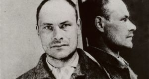 A prison photograph of Michael Cleary from the General Prisons Board Penal File. Photograph: National Archives