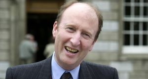Minister for Transport Shane Ross: struggling under the intense scrutiny and weighty responsibility that go with Cabinet membership. Photograph: Cyril Byrne