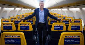 Ryanair chief executive Michael O'Leary Photograph: Stefan Rousseau/PA Wire