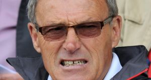 Crewe director of football Dario Gradi has released a statement saying he knew nothing about junior scout Barry Bennell's abuse of young footballers until his arrest in 1994. Photograph: Martin Rickett/PA