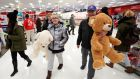 The Black Friday sale on Thanksgiving Day at Target in Chicago, Illinois
