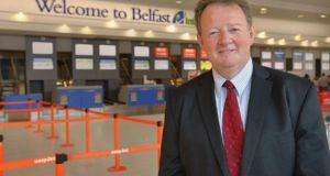 Belfast International Airport chief executive Graham Keddie. File photograph: Aaron McCracken/Harrisons