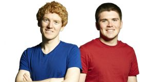 Stripe cofounders John and Patrick Collison: They set up the company with the goal of making it easier for websites to accept payments.
