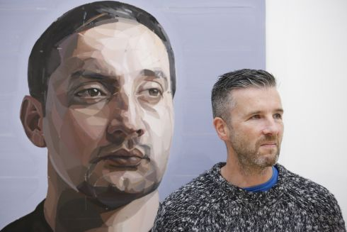 <b>Gavan Mccullough, Imran, 2016. </b> <br><br>Gavan McCullough is a portrait and landscape artist who is based in both Ireland and Germany. He was shortlisted for the Hennessy Portrait Prize in 2014 and for the BP Portrait Prize in 2015. In recent years his work has also been selected for the RHA and RUA Annual Exhibitions.