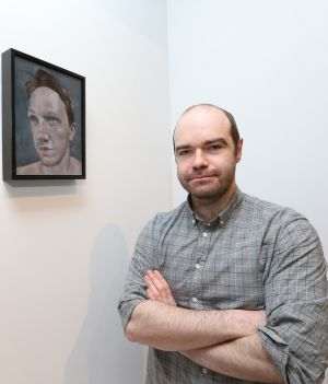 <b>Gerry Davis, Seán, 2015. </b> <br><br>Originally from Cahir, Co. Tipperary, Gerry Davis graduated from Limerick School of Art and Design in 2009 with a degree in Fine Art (painting). He has been exhibiting regularly since, including What Has Been Shall Always Never Be Again at Ormston House, and a solo show Burrow, at TACTIC. In 2016, in addition to being awarded a merit prize at the Golden Fleece Award, Davis exhibited at the 186th Royal Hibernian Academy Annual Exhibition, and at a three man show The Forest that Hears and the Field that Sees in Damer House, Roscrea. His solo show Studio, was held at Pallas Projects, Dublin in October 2016.