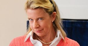 Katie Hopkins: Pat Kenny's guest has described migrants as cockroaches. Photograph: Ian Forsyth/Getty