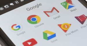 There's no guarantee that an office email system is any more secure than Google's webmail, but there's a few things that should be considered.