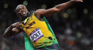 Jamaica's Usain Bolt successfully defended his three Olympic sprinting titles in Rio this summer. Photograph: Martin Rickett/PA.