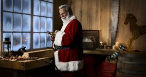 Where will Santa's workshop be if the Arctic ice cap melts? Getty Images/Vetta