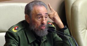 Fidel Castro has died aged 90. Photograph: Antonio Levi/AFP/Getty Images