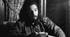 Fidel Castro during an interview in Havana in July 1964.  Photograph: The New York Times
