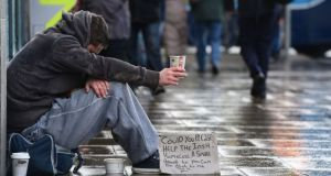 There are more than 5,000 adults and children homeless in the Dublin region alone. Photograph: Alan Betson