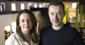 Maximum Media chief executive Katie Molony and broadcast director Paddy McKenna: the company's revenues increased 65 per cent to €4.3 million in the year ending April 2016