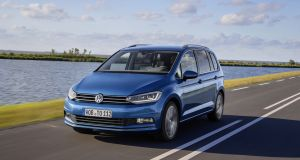 41  VW Touran: A sensible, upright and very useful family car