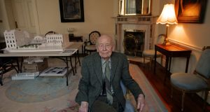 "Readers delight in the ""glimpse of truth"" of short stories, and such storytelling counters the ""meaningless"" life that novels illustrate, William Trevor believed. Photograph: Eric Luke"