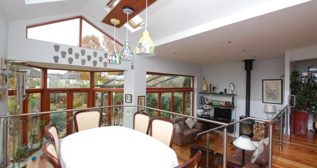 The Split Level Open Plan Room At The Rear Of The House, With