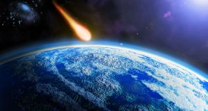 Collision of a 10km-wide asteroid with Earth 65 million years ago wiped out the dinosaurs but a future collision with an even smaller asteroid could have disastrous consequences for humanity. Image: iStock