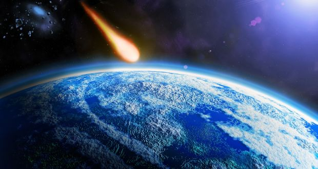 df6b0044c Collision of a 10km-wide asteroid with Earth 65 million years ago wiped out  the