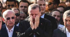 Turkey's president Recep Tayyip Erdogan:  Authorities have opened a case against 50 alleged coup plotters accused of attempting to assassinate Mr Erdogan, according to broadcaster NTV . Photograph: AFP