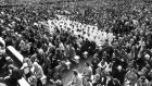 Pope John Paul II in Ireland: in 1979 more than a million people came to see the Pope in Phoenix Park