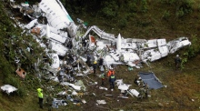 Plane carrying Brazilian football team crashes in Colombia, kills 76
