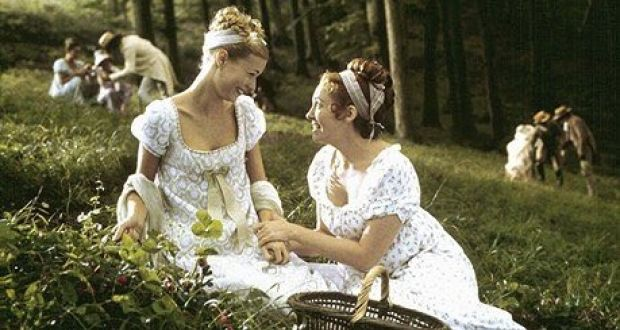 Gwyneth Paltrow and Toni Collette in the 1996 film adaptation of  Emma by Jane Austen