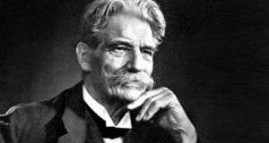 Albert Schweitzer: believed that Christianity was the answer to the world's troubles but only if individuals lived it