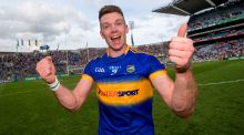 "Tipperary's Pádraic Maher on earning the captaincy: ""I was thrilled, I wasn't really expecting it."" Photograph: James Crombie/Inpho"
