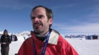 Ireland's Gary Thornton wins the Antarctic Ice Marathon
