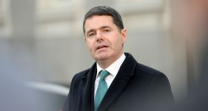 Minister for Public Expenditure Paschal Donohoe: talks should be completed by the end of January. Photograph: Eric Luke
