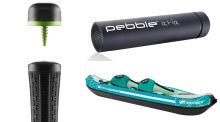 Travel Gear: golf gadgets, portable power and clever kayaks