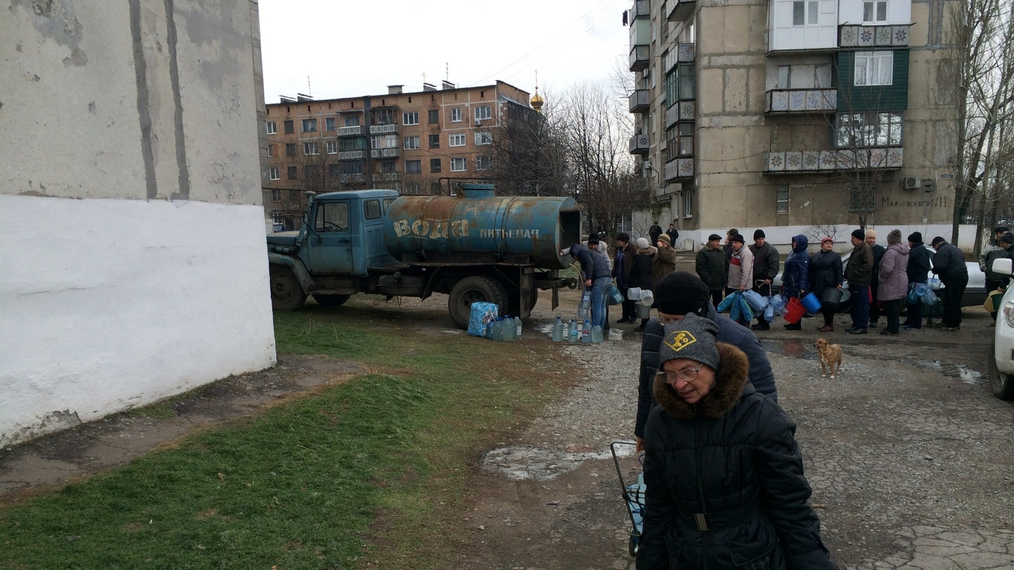 Water delivery in the Kiev region: a selection of sites