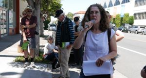 Walking the Rebellion: Elizabeth Creely takes visitors on a 1916-themed tour of the Mission District in San Francisco