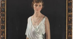 Sir William Orpen's Portrait of Mrs Oscar Lewisohn, formerly Miss Edna May was painted in 1915