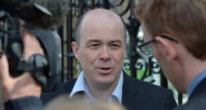 "Denis Naughten: ""Dee Forbes is doing a root-and-branch review of RTÉ at the moment.""  Photograph: Alan Betson"