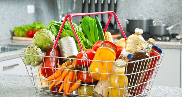 Safefood report reveals that average spend per person in a four-person household is €35. Photograph: Getty Images