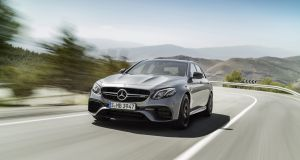 Mercedes-AMG E 63: there is no other sports saloon out there that sits as flat in corners while it's being flung about at increasingly ridiculous angles