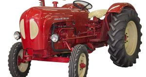 Porsche Diesel 329 Tractor (€17,500- €22,000) at Mealy's